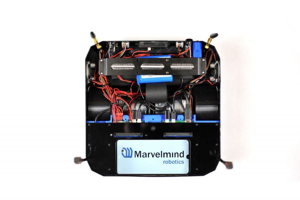 Marvelmind Boxie - autonomous mobile robot