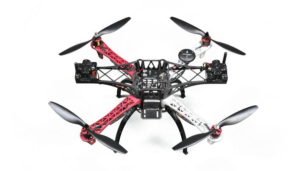 "Marvelmind Indoor ""GPS"" for quadcopters"